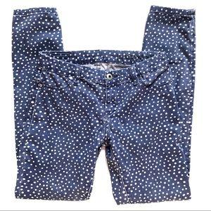 Blank NYC x Madewell Collab Polka Dot Jeans